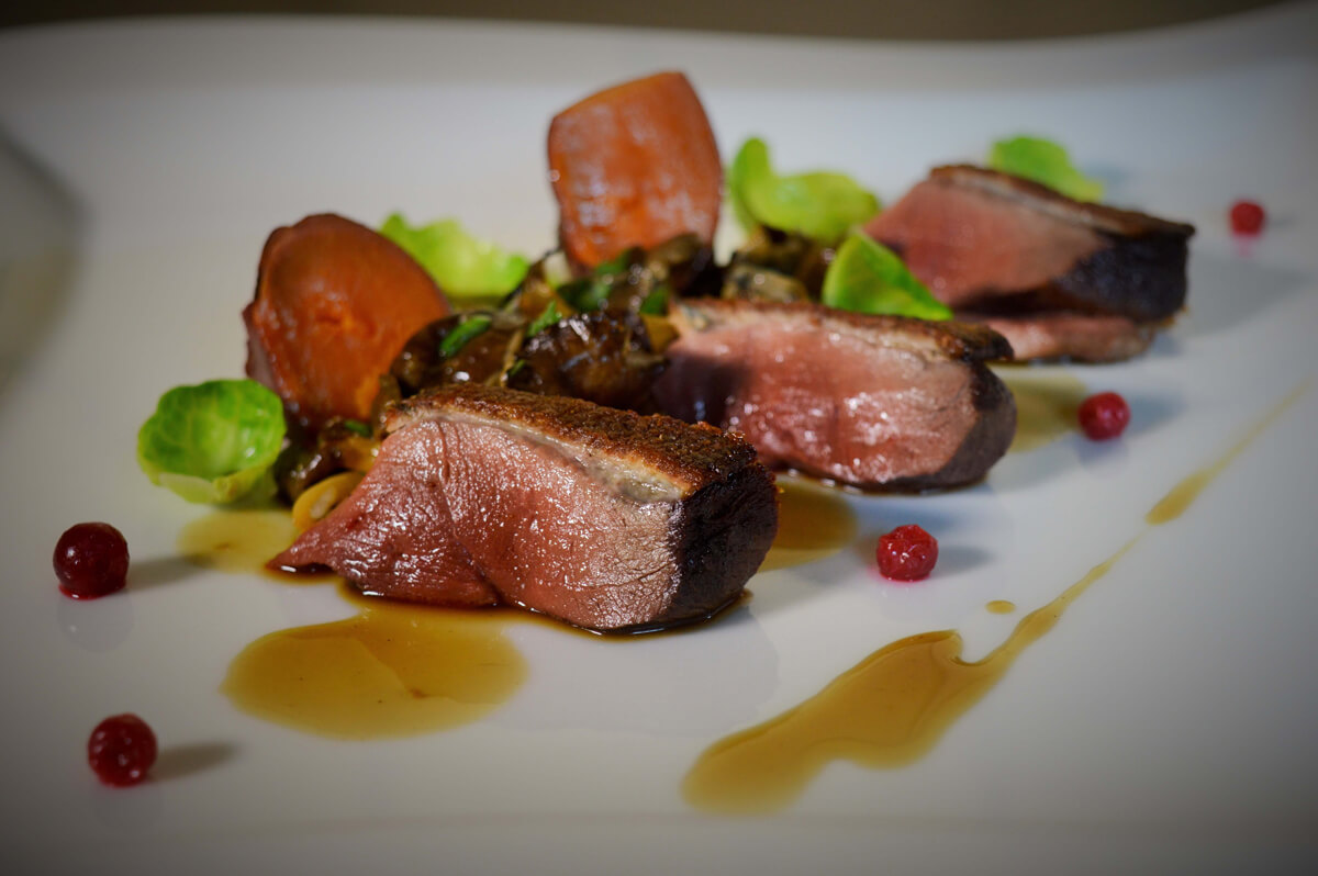 restaurant specialite chasse proche martigny
