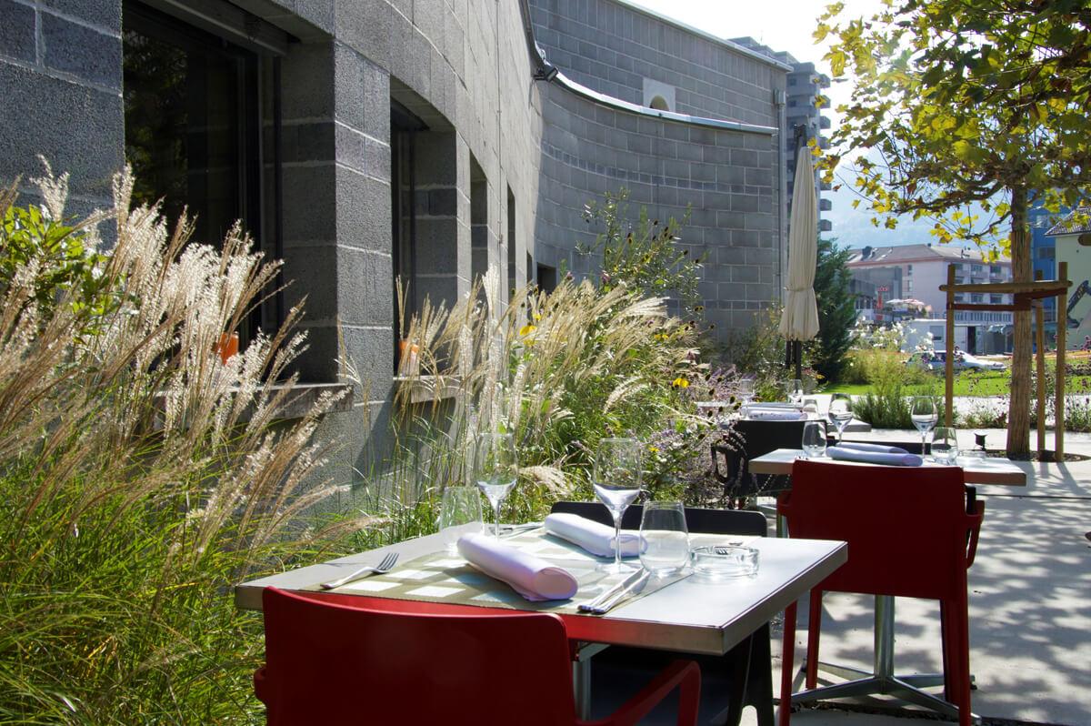 restaurant terrasse monthey valais suisse mariage